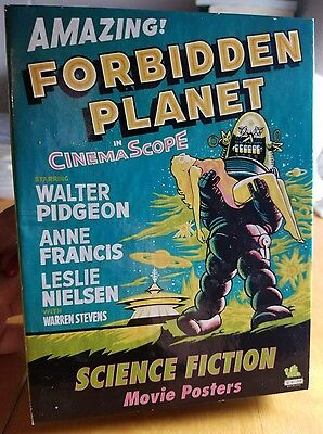 $ CDN13.92 • Buy Vintage Science Fiction Movie Posters Forbidden Planet Postcards