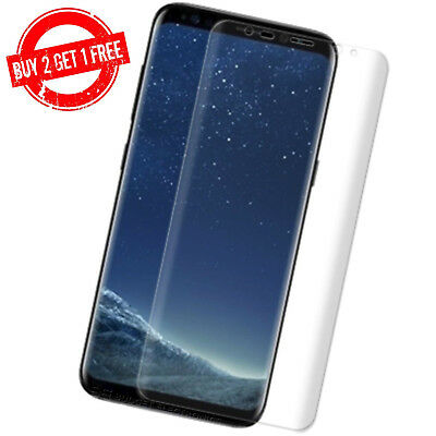 $ CDN3.95 • Buy Samsung Galaxy S8+ PLUS Full Coverage Clear Case Friendly Film Screen Protector