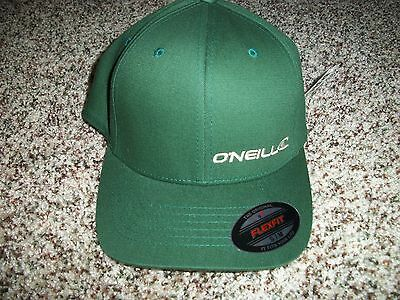 $18.95 • Buy O'NEILL New NWT Mens S/M SMALL MEDIUM HAT CAP LID Solid Green