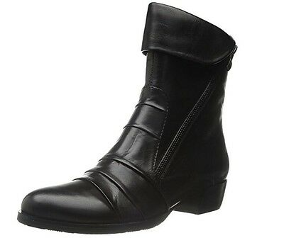 $30 • Buy New - Women's Everybody Fawn Black Glove Leather Boots European Size 36