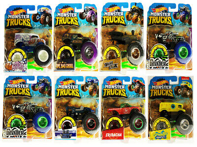 Genuine Hot Wheels Monster Trucks 1:64 Scale Collect Them All Choose From List • 8.50£