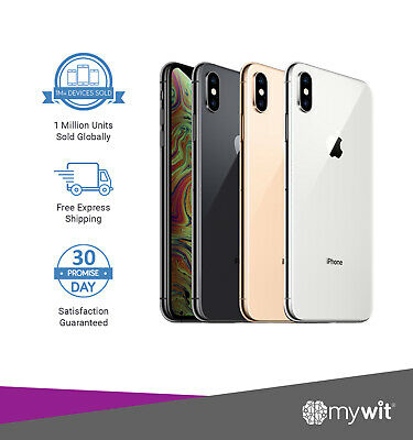 AU799 • Buy Apple IPhone X A1865 64GB 256GB Unlocked Smartphone As New Condition