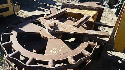 $3900 • Buy 18  Compaction Wheel For Large Excavator With Quick Coupler- Gd Condition