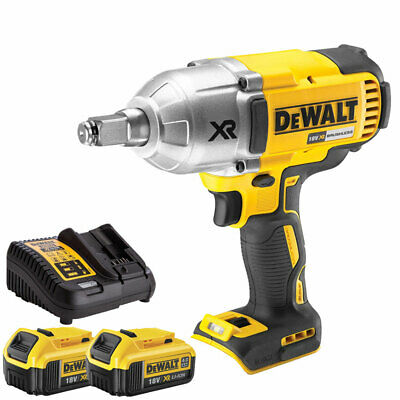 2x 5Ah Batteries DCB184 and Charger DCB115 DeWalt DCF885N 18v XR Impact Driver
