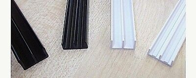 £1.08 • Buy Vivarium Glass Runners. Top And Bottom Pair. Black Or White. Pet Cages.