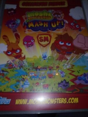 £29.99 • Buy Binder And Cards Moshi Monsters Topps - Only 3 Cards Are Missing