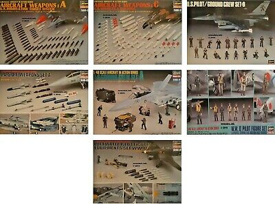 Hasegawa 1/48 Aircraft Set New Plastic Model Kit • 12.95£