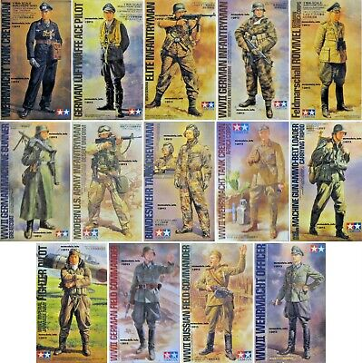 Tamiya  1/16  Figure  New  Plastic  Model  Kit  Figures 1 16 • 12.95£