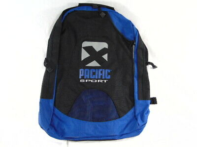 $13.99 • Buy New PACIFIC SPORT Tennis Backpack Blue-Black - Free Shipping