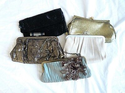 Stila Planet Mexx Fiorelli Elvi Bundle FIVE Evening + Clutch Bags NEW + VGC • 18.99£