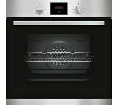 £299 • Buy New Neff B1hcc0an0b 71l Built In Single Electric Oven Stainless Steel Led