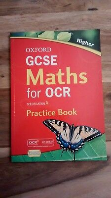 Includes CD Rom,Oxford GCSE Maths For OCR Higher A,Practice Book,Unused,Rayner D • 6.99£