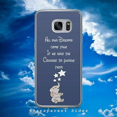 $ CDN10.57 • Buy Disney Dumbo Elephant Dreams Quote Hard Phone Case Cover For Samsung Huawei