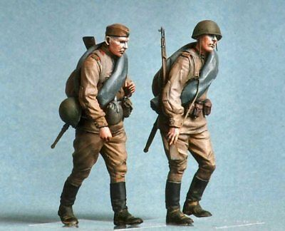 Tahk Soviet Infantry Kursk 1943 No2 1/35 Scale Resin Figures T35038 • 19.95£