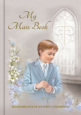 Boys First Holy Communion Mass Book  - Hard Back - 1st Religious Gift • 5.50£