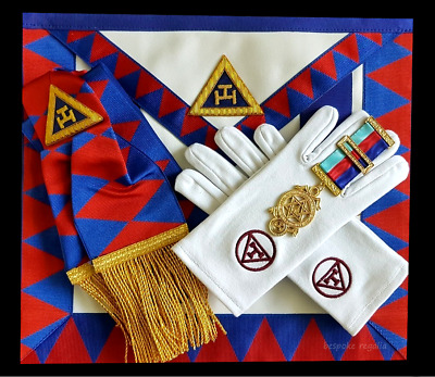 Masonic Regalia-ROYAL ARCH- COMPANION/PRINCIPAL/PROVINCIAL CHAPTER PACKAGES NEW • 49.99£