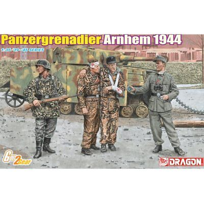 Dragon 6648 Panzergrenadier Arnhem 1944 1/35 Scale Plastic Model Figure Kit • 19.75£