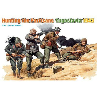 Dragon 6491 Hunting The Partisans Yugoslavia 1943 1/35 Scale Plastic Figures Kit • 15.95£