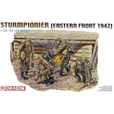 Dragon 6146 German Sturmpionier Eastern Front 1942 1/35 Scale Plastic Model Kit • 16.95£