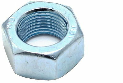 M10 - M20 Metric Extra Fine Pitch Hex Head Full Nuts  Bright Zinc Plated Din 934 • 1.85£