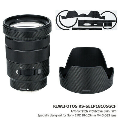 AU18.68 • Buy Anti-Scratch 3M Lens Skin Protector Film Cover For Sony E PZ 18-105mm F4 G OSS