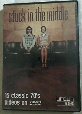 Stuck In The Middle DVD - 15 Classic 70s Videos On DVD Video - Used • 5.99£