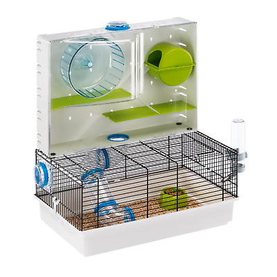 Heritage Double Tier Hamster Cage Pet Gerbil Activity Tubes Small Rodent Animal • 39.95£