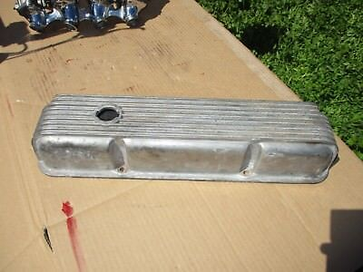 SINGLE Cal Custom Finned Aluminum Valve Cover #40-1018 Ford FE 352-390-428 9-Fin • 84.59$