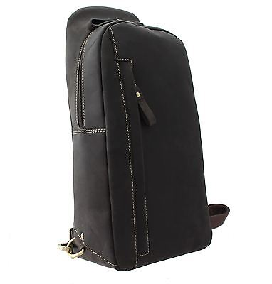 £99.99 • Buy Visconti SHARK Single Strap Oiled Leather Backpack 16132