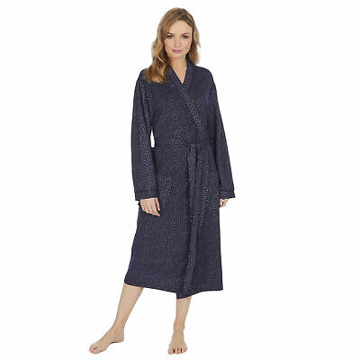Women Ladies Polka Dot Dressing Gown Robe Spotty Dotted Lightweight Summer Comfy • 14.95£