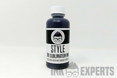 100ml Black Ink Experts 'Style' Sublimation Ink For Ricoh Printers • 12.90£