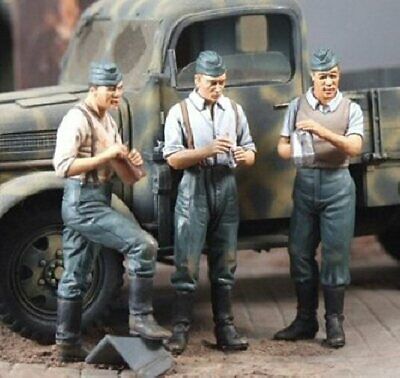 German Infantry At Rest May 1940 N35071 1/35 Scale Resin Model Figures • 24.95£