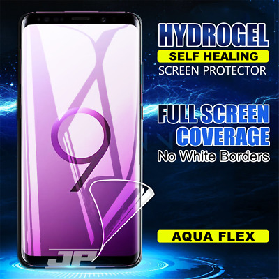 AU4.95 • Buy For Samsung Galaxy S10e S8 S9 S10 Plus S7 Edge HYDROGEL Full Screen Protector