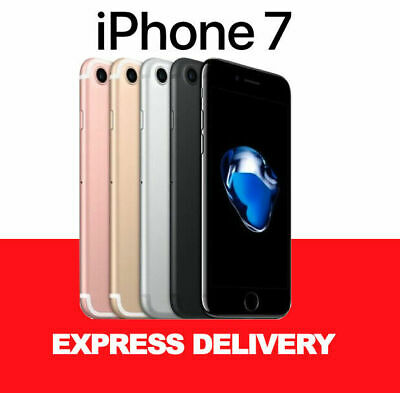 AU309 • Buy AS NEW APPLE IPhone 7 32GB 128GB 256GB LTE 100% Factory Unlocked Smartphone