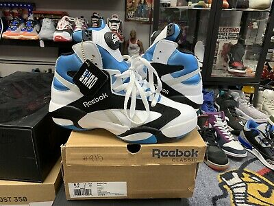 ffbb9d30d80 Reebok Classic Shaq Attaq Magic Og Retro Size 8.5 Basketball Nba Vintage  Vtg • 125.00