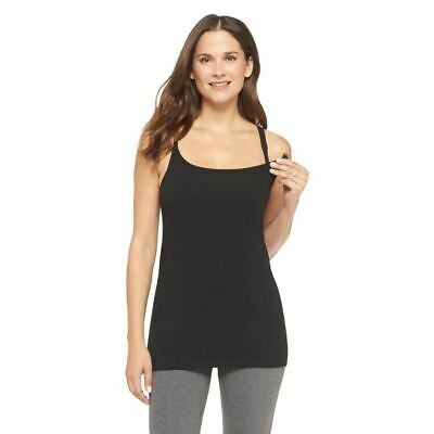 f8a0bcdf2 Gilligan   O Malley Women s Nursing Cotton Cami. Size M. Black. •