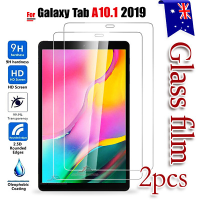 AU4.99 • Buy 2X For Samsung Galaxy Tab A 10.1  2019 T510 T515 Tempered Glass Screen Protector