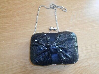 Lovely Hard Case Bag With Chain By Leko (London)  Unused • 5.99£