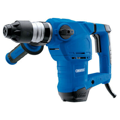Draper 1500w Electric Sds + Rotary Impact Hammer Drill Kit 240v 56404 • 74.99£