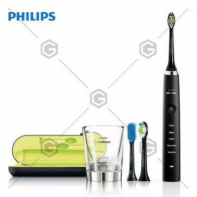 AU339.85 • Buy Philips HX9352/04 Diamond Clean Electric Toothbrush: Black TongueCare Brush Head