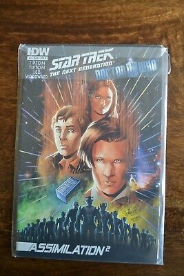 Star Trek The Next Generation Doctor Who Assimilation Squared #3B IDW • 12.99£