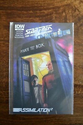 Star Trek The Next Generation Doctor Who Assimilation Squared #5 IDW • 14.99£
