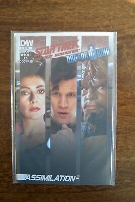 Star Trek The Next Generation Doctor Who Assimilation Squared #2RIA IDW • 14.99£