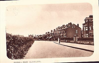 £2 • Buy Cleveleys..Rossall Road, South From Rough Lea Road..1925   Nr Blackpool