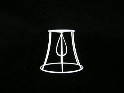 Bowed  Empire  Clip On  Lampshade Frame   5   Base • 4.90£