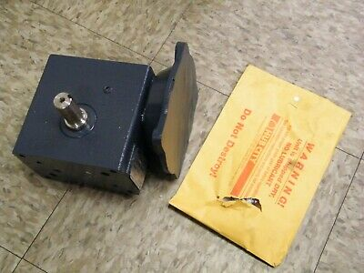 $300 • Buy Hub City Gear Reducer 0220-76836 Right Angle Worm Reducer Drive 56C 10:1 184