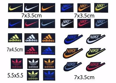 Nike Patch, Adidas Iron On Patch, Nike Logo Sewing Patch, Adidas Patch, Sports • 1.79£