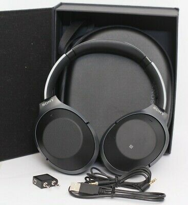 $ CDN241.68 • Buy Sony WH1000XM2/B WH-1000XM2 Wireless Noise Canceling Over-Ear Headphones Black
