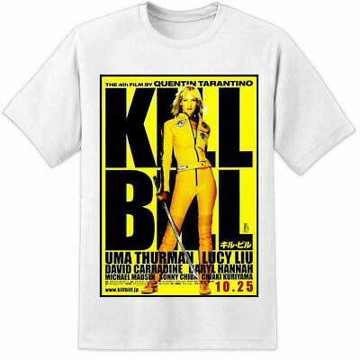 Kill Bill T Shirt Japanese Retro Cult Classic Huge Rare Movie Poster Print Fight • 4.99£