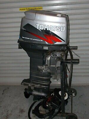 AU1 • Buy 50HP Tohatsu Outboard Motor SPARK PLUG - Wrecking This Outboard